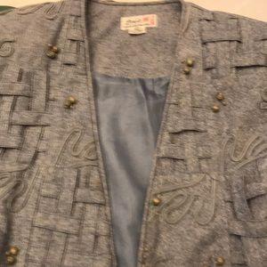 3 piece woman's size L suit